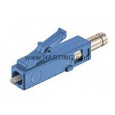 CONECTOR FIBRA OPTICA LC MONOMODO 2mm ( 9/125 micrones) HAN Modular