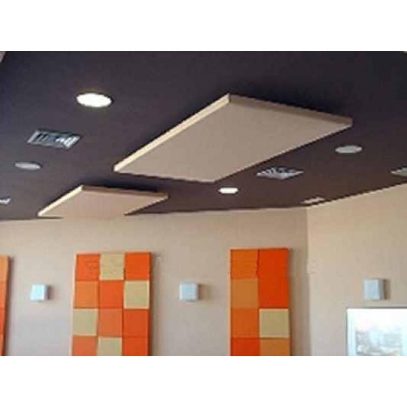 Panel ac stico de techo absorbente autoportante for Larvas de polillas en el techo