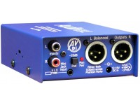 INTERFACE BALANCEADOR RCA / MINIJAC A XLR