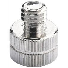 ADAPTADOR DE ROSCA PARA PIE DE MICRO. DIAMETRO 16 mm - 9 mm