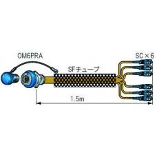 CONEXION OPTICA PULPO  CANARE 6OM6 HEMBRA - 1,5 m. -  6 x LC SM